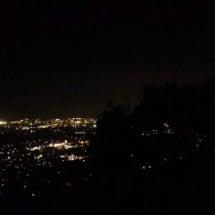 芥子山の夜景