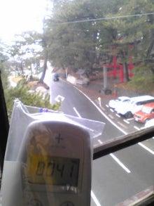 ちょんちゃん♪らが仙台を中心に放射線量を測定します。-12.3.11酒田おくりびと室内から