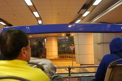 北京大学に短期留学をしました。-オープンバス2階