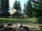 軽キャンパーファンに捧ぐ 軽キャン◎得情報-ニセコサヒナキャンプ場テント