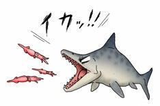 川崎悟司 オフィシャルブログ 古世界の住人 Powered by Ameba-イカを襲うギョリュウ