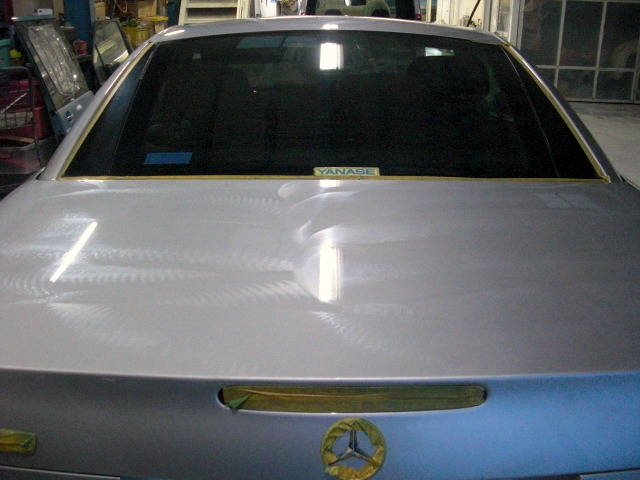 京都の女職人が書く車のブログ☆★-ベンツ 磨き
