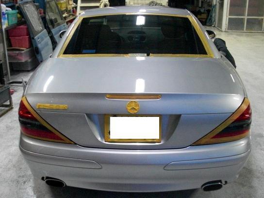 京都の女職人が書く車のブログ☆★-SL コーティング