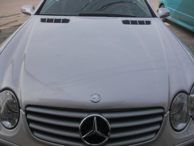 京都の女職人が書く車のブログ☆★-SL500 ボンネット