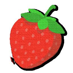 イチゴのアイコンと お礼 Andro Home