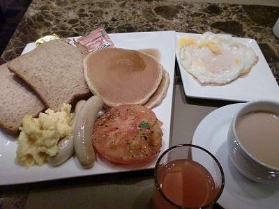 北京大学に短期留学をしました。-ホテル朝食