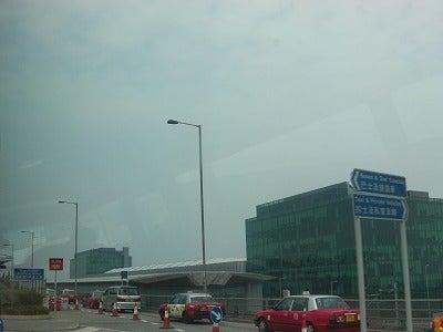 北京大学に短期留学をしました。-香港国際空港