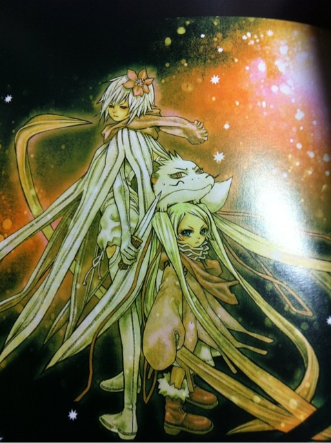 テガミバチイラスト集 Shine Mitsukiの宿題くん