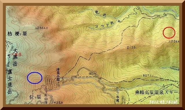 ロフトで綴る山と山スキー-map2