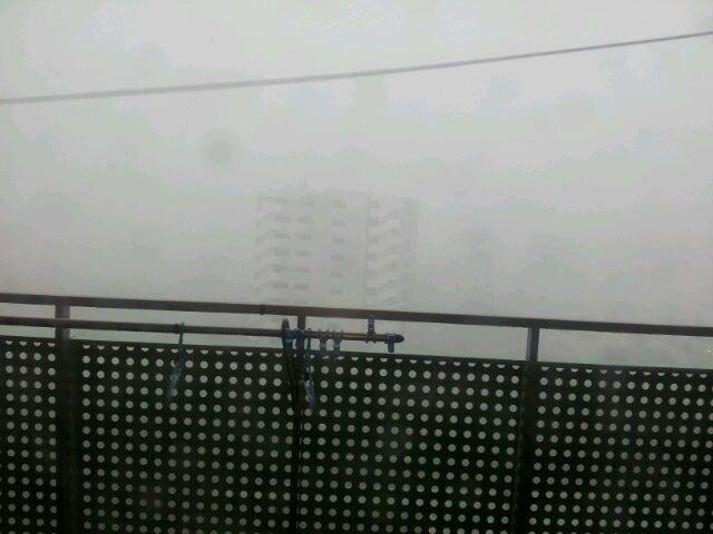 $歩き人ふみの徒歩世界旅行 日本・台湾編-暴風雨