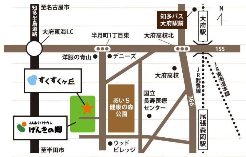 げんきの郷 アクセスMAP