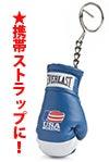 BOXING MASTER/ボクシング マスター-キーホルダーUSAブルー