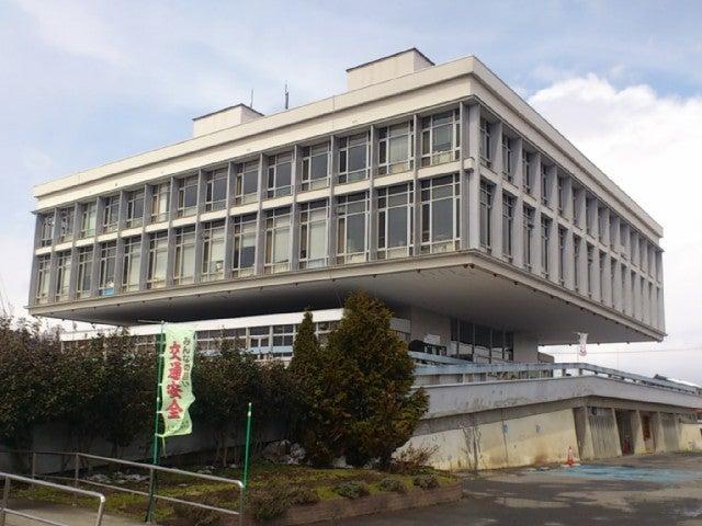寒河江市役所庁舎 | 。+゚定禅寺大学2年生゚.:。+゚