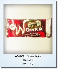 Chocobanditz blog☆キャラクターデザインとFavorites☆-WONKA Chocolate(Nestle)