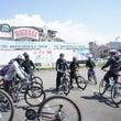 桜咲くサイクリング
