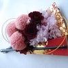 ●前撮りの打掛に合わせた扇子ブーケ。石川県の花嫁様へ。の画像