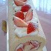 体験レッスンのロールケーキの画像