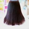 縮毛矯正の後に香草カラー。の画像