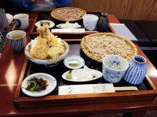 $masaのブログ-吟匠庵 天ぷら+そばせいろ