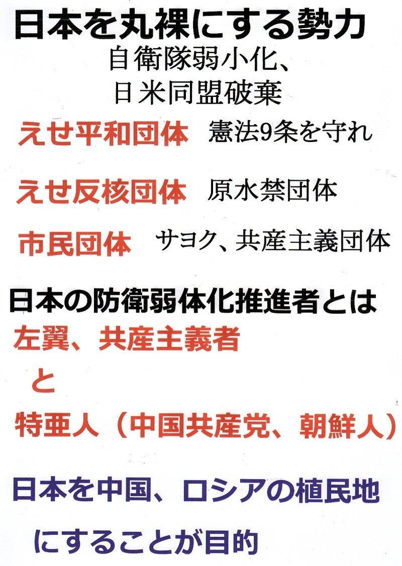 日本人の進路日本が中国、ロシアの植民地から逃れる方法は日本の核武装のみ!(その1)コメント