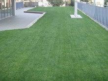 地域にひろがる「まちなか」の校庭芝生たち!-久が原 芝刈り後