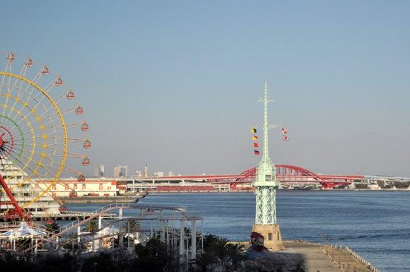 茶々吉とデジ一 のんびり旅-120414_松方ホール4階からの眺め