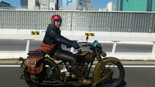 "$""SLOW/SLOW"" バイカー(with the vintage moto)"