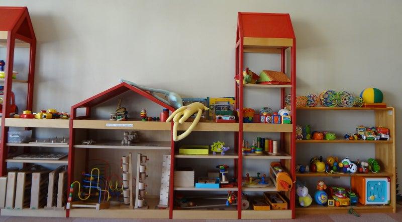 コピック三笠画材ブログ、岩国市おでかけ、展覧会、イベント、祭-こども館にっこりのおもちゃ