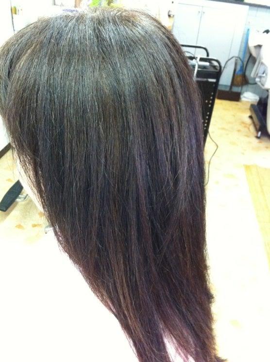 横浜山手のミコノスサロン:ヘアー&エステあみゆぅずのブログ☆-ミコノス縮毛矯正のアフター2