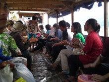 ラオス・ぼーぺんにゃん日記-ラオス正月 ピーマイ ルアンパバーン 水掛け祭