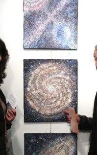 『宇宙工房』 地球のかけらで宇宙をえがく~Cosmic Intuitive Art(R)  こつがい きょうこの世界~