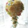 ●南国風なお花を使ったウェディングブーケ。東京都の新婦様へ。の画像