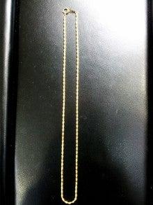 じゅえりー工房Kのブログ-K18ネックレス完成