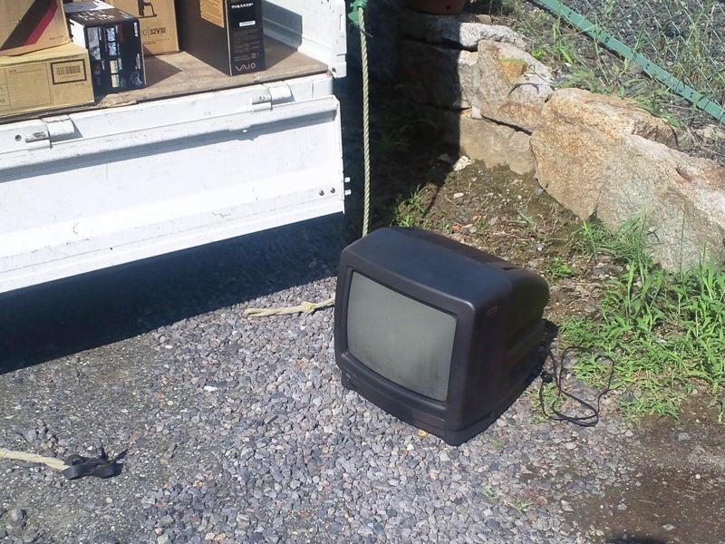 メイプル-古いテレビ
