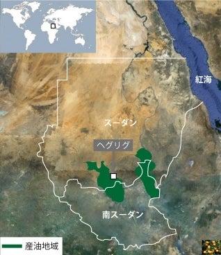 $蜜柑草子~真実を探求する日記~-スーダンと南スーダンの地図