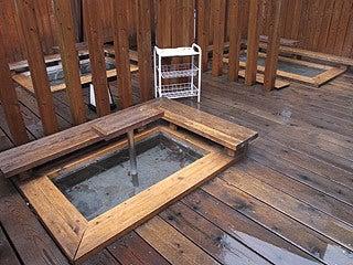 晴れのち曇り時々Ameブロ-足湯下ノ湯
