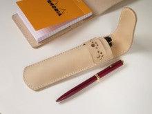 OXIO-CRAFT(オキクラ)の「革雑貨」製作日記-ペンケース