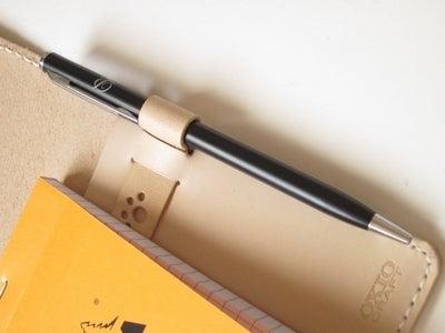 OXIO-CRAFT(オキクラ)の「革雑貨」製作日記-ペンホルダー