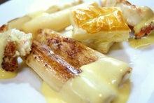 食べて飲んで観て読んだコト+レストラン・カザマ-タラバ蟹とホワイトアスパラ