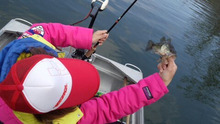 Girls Fishing!A' Go!Go!-釣れるぅ~