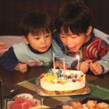 【子供達の誕生日会♪…