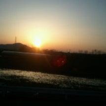 久し振りの夕陽の美し…