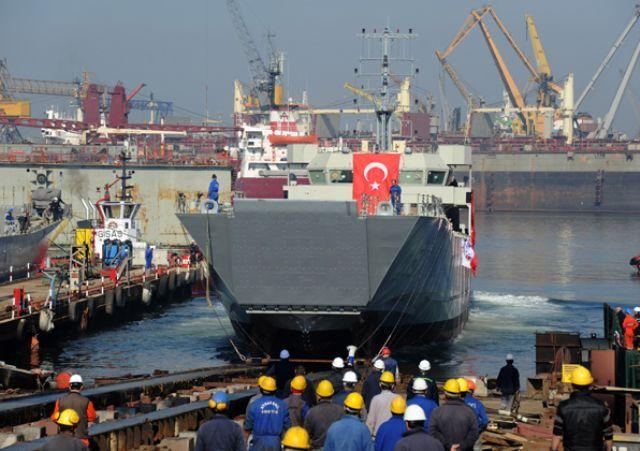 航空母艦。の散歩道-トルコ海軍