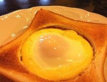 $珈琲処ふなこしママmayuのホッとひとい記-ハムエッグトースト