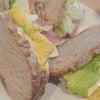 お手製サンドイッチ(^o^)vの画像