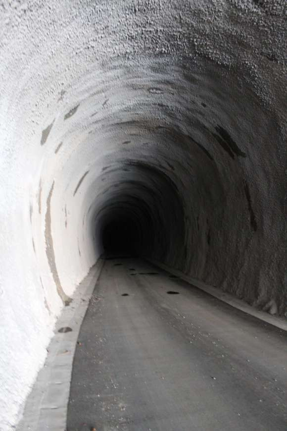 道にあるちょっと古いもの-新靑崩隧道