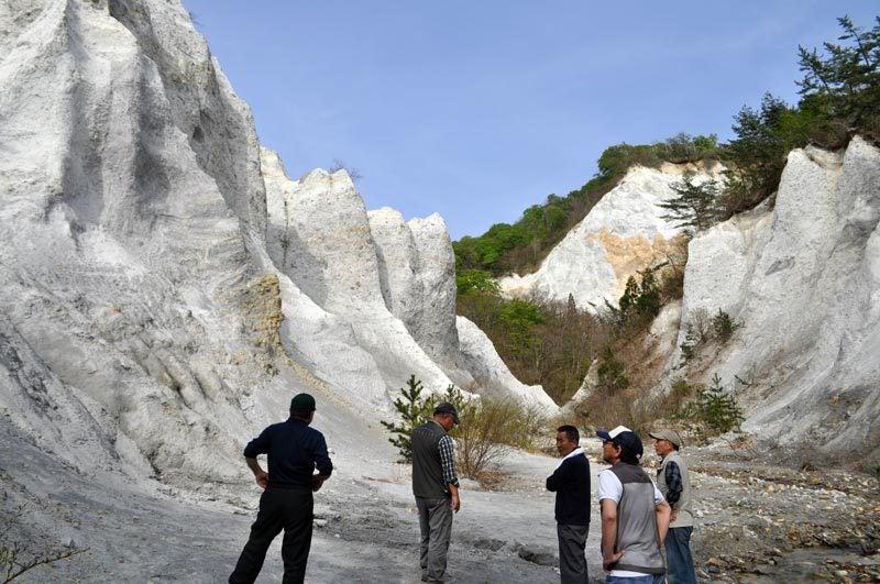 $白神山地ツアーの白神なびスタッフブログ-2012年5月1日の十二湖8