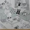 在宅でおこなう言語聴覚士による訓練の画像