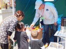 浄土宗災害復興福島事務所のブログ-20120428お花見餅つき大会⑥