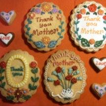 母の日クッキー